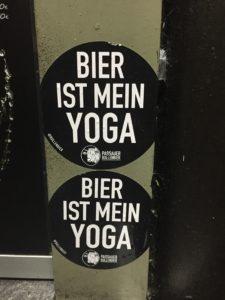Berlin wie es leibt und lebt - Bier ist mein Yoga