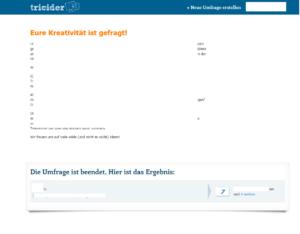 tricider - das tool für entscheidungen